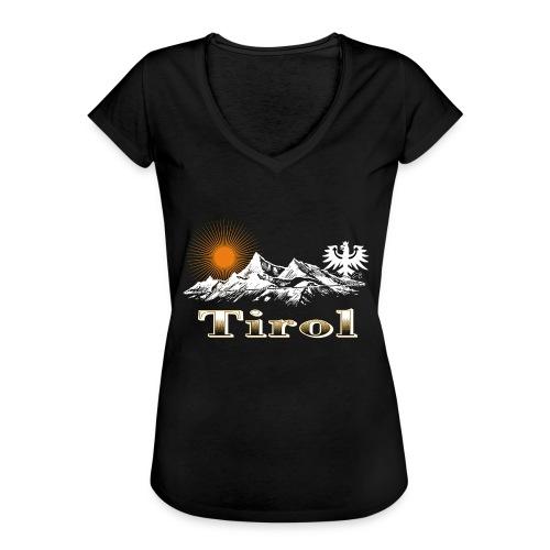 Tiroler Berge - Frauen Vintage T-Shirt