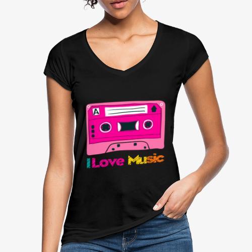 Cinta 3 - Camiseta vintage mujer