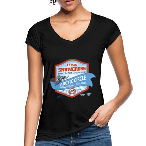 MM Snowcross 2020 virallinen fanituote - Naisten vintage t-paita