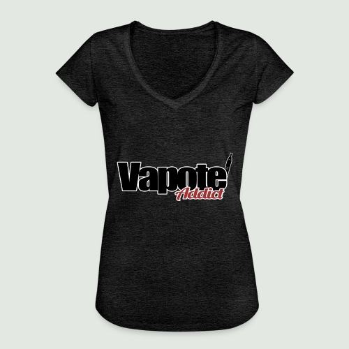vapote addict - T-shirt vintage Femme