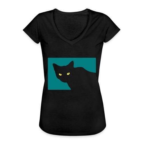 Spy Cat - Women's Vintage T-Shirt