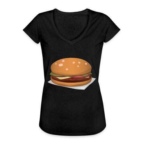 hamburger-576419 - Maglietta vintage donna