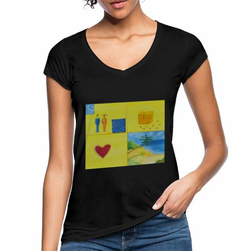 Viererwunsch - Frauen Vintage T-Shirt
