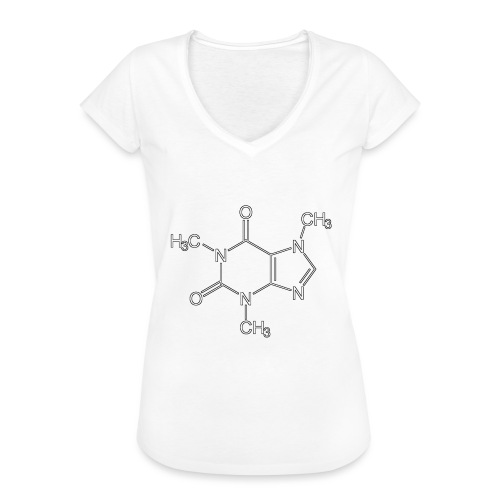 Koffein.png - Frauen Vintage T-Shirt