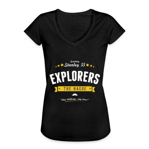 Explorershirt - Vrouwen Vintage T-shirt