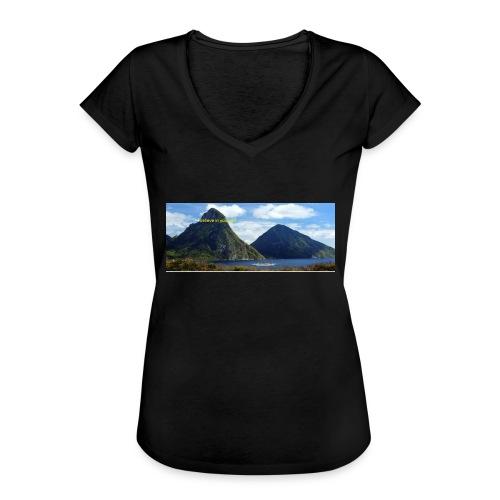 believe in yourself - Women's Vintage T-Shirt