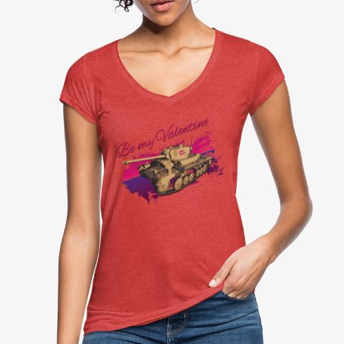 Be my Valentine Tank - Frauen Vintage T-Shirt