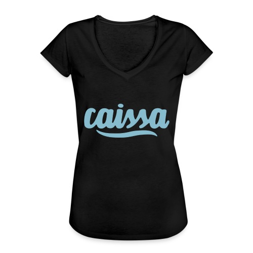 caissa logo - Frauen Vintage T-Shirt