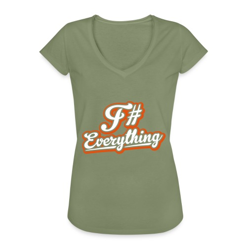 F# Everything - Women's Vintage T-Shirt