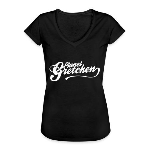 Planet Gretchen - Vintage-T-shirt dam