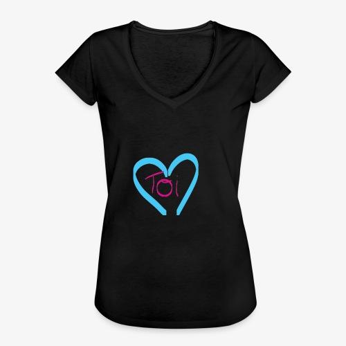 Mon cœur c'est Toi - T-shirt vintage Femme