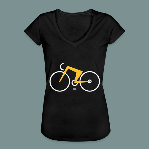 Bikes against cancer - Dame vintage T-shirt
