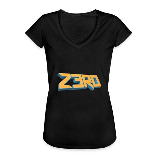 The Z3R0 Shirt - Women's Vintage T-Shirt