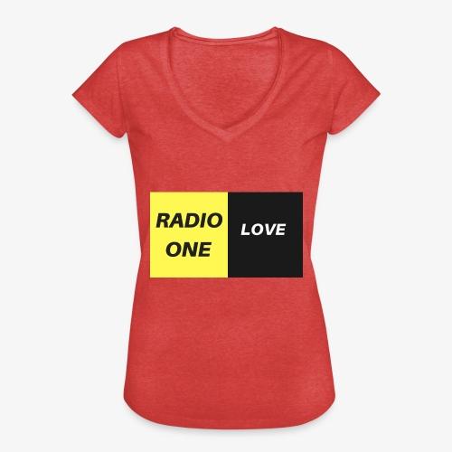 RADIO ONE LOVE - T-shirt vintage Femme
