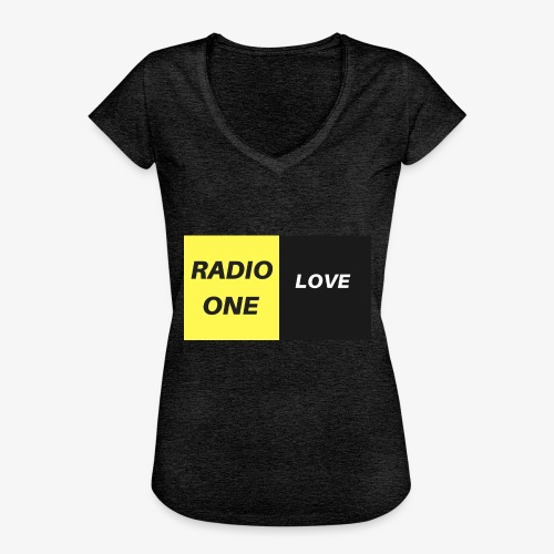RADIO ONE LOVE - T-shirt vintage Femme
