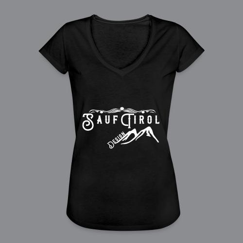 Sauftirol Weiss - Frauen Vintage T-Shirt