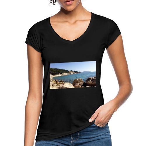 Corniche - T-shirt vintage Femme