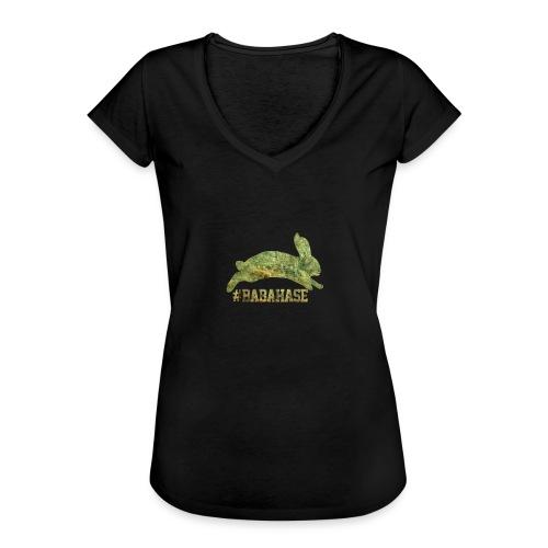 DASDAO - Frauen Vintage T-Shirt