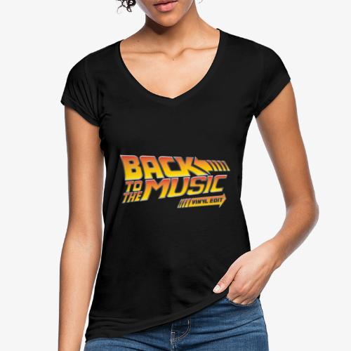 Back to the music Vinyl Edit - T-shirt vintage Femme