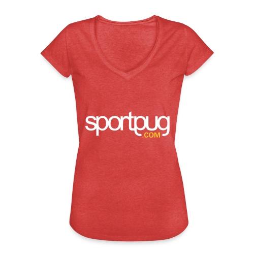 SportPug.com - Naisten vintage t-paita