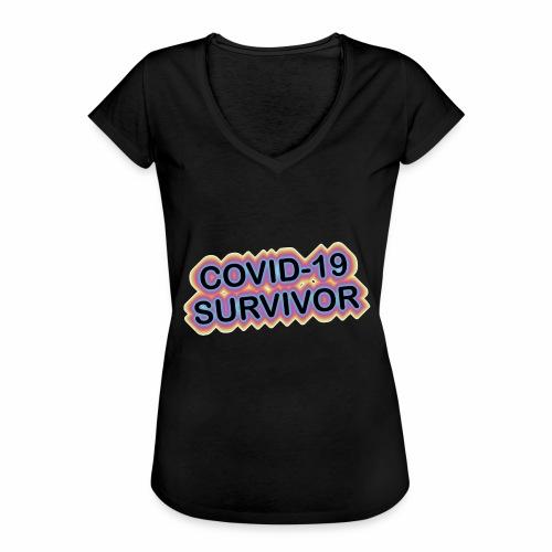 covic19survivor - Dame vintage T-shirt