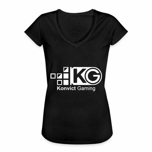 clear large - Women's Vintage T-Shirt