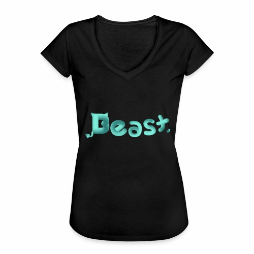 Beast - Women's Vintage T-Shirt