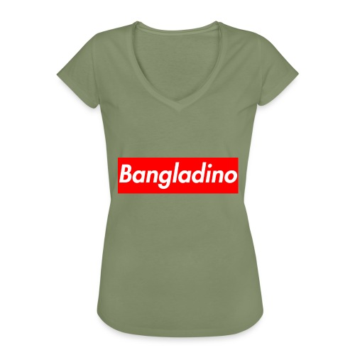 Bangladino - Maglietta vintage donna