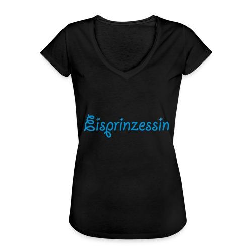 Eisprinzessin, Ski Shirt, T-Shirt für Apres Ski - Frauen Vintage T-Shirt