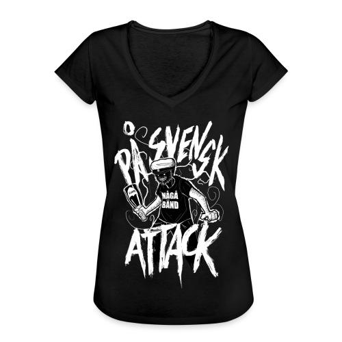 På Svenska Tack - Women's Vintage T-Shirt