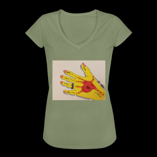 9D8D600F D04D 4BA7 B0EE 60442C72919B - Dame vintage T-shirt