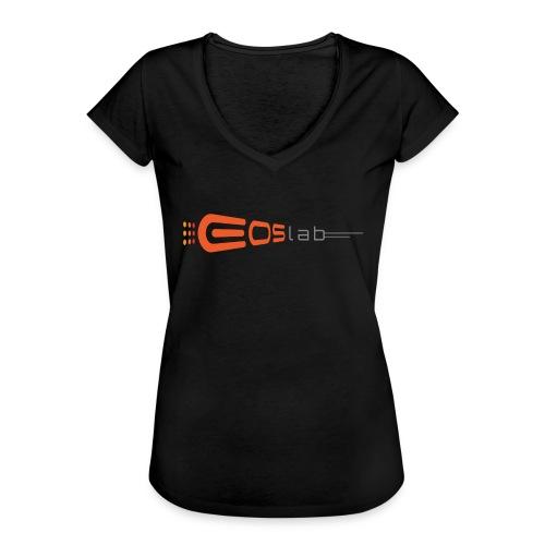 EOS Lab - Camiseta vintage mujer