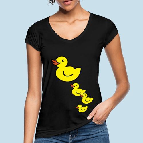 Ente - Frauen Vintage T-Shirt