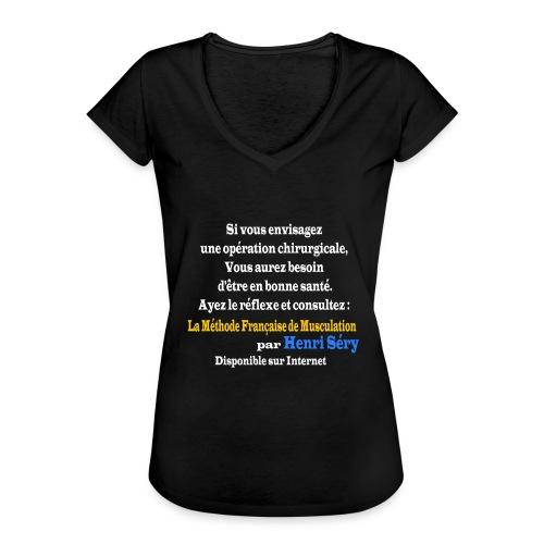 LMF Chirurgie v2 - T-shirt vintage Femme