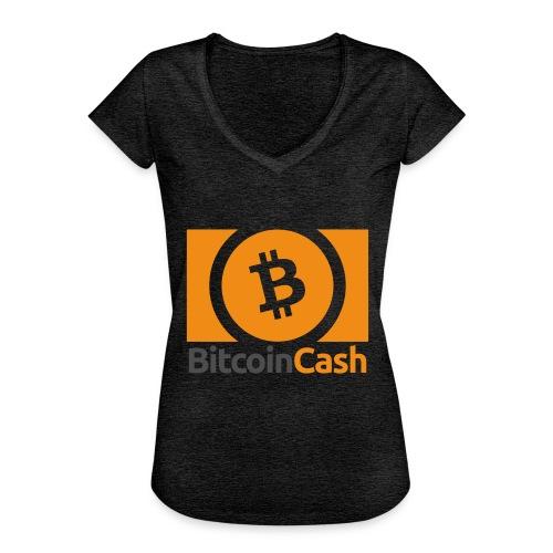 Bitcoin Cash - Naisten vintage t-paita