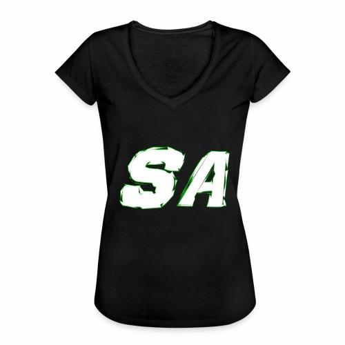 Vit SA Logo - Vintage-T-shirt dam