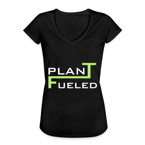 PLANT FUELED - Frauen Vintage T-Shirt