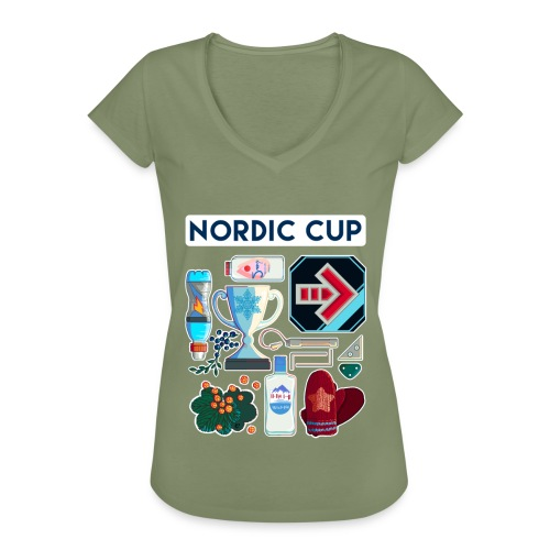 Nordic 2018 - Naisten vintage t-paita