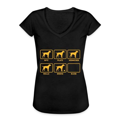 Für alle Hundebesitzer mit Humor - Frauen Vintage T-Shirt