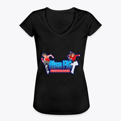 Rise FM Logo - Women's Vintage T-Shirt