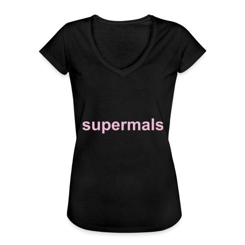 Supermals - Vrouwen Vintage T-shirt