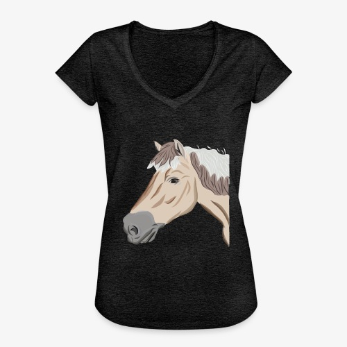 Fjord Pony - Frauen Vintage T-Shirt