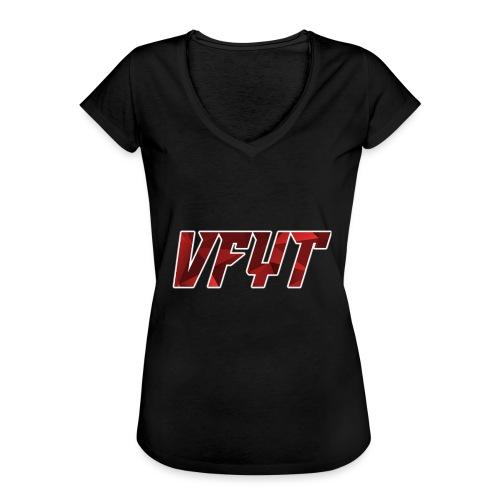 vfyt shirt - Vrouwen Vintage T-shirt