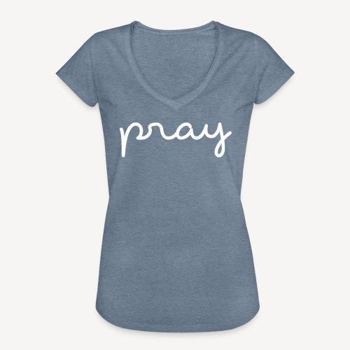 PRAY - Women's Vintage T-Shirt