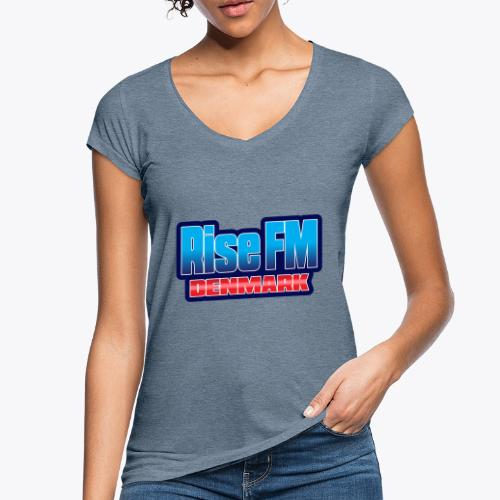 Rise FM Denmark Text Only Logo - Women's Vintage T-Shirt