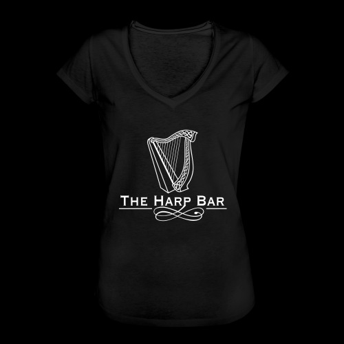 Logo The Harp Bar Paris - T-shirt vintage Femme