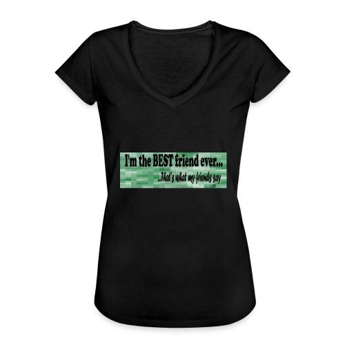 MOOD PHRASES - Camiseta vintage mujer