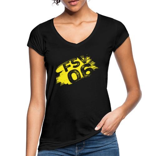 Hildburghausen FSV 06 Graffiti gelb - Frauen Vintage T-Shirt