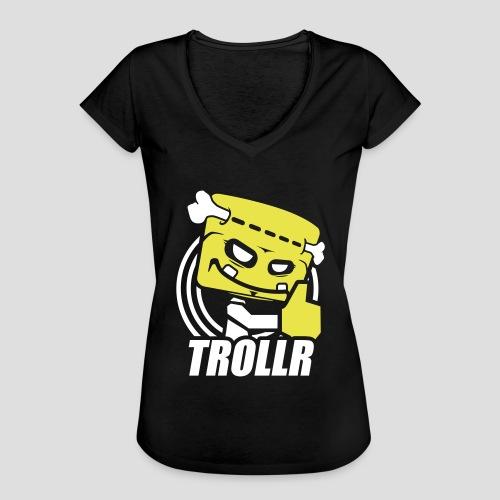 TROLLR Like - T-shirt vintage Femme