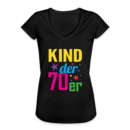 Kind der 70er - Frauen Vintage T-Shirt